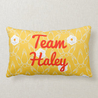 Team Haley Throw Pillow