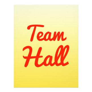 Team Hall Flyer