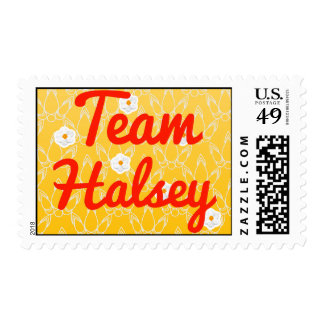 Team Halsey Postage Stamps