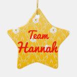 Team Hannah Christmas Tree Ornaments