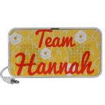 Team Hannah Travelling Speaker