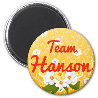 Team Hanson Fridge Magnets