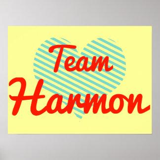 Team Harmon Poster