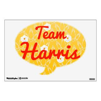 Team Harris Wall Stickers