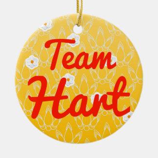 Team Hart Ornament