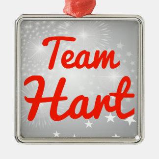 Team Hart Christmas Ornament