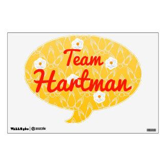 Team Hartman Wall Decal