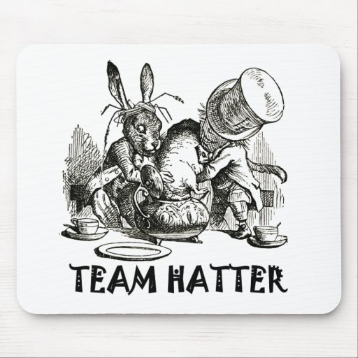 TEAM HATTER MOUSE PAD
