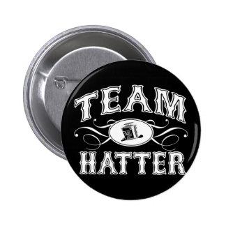 Team Hatter Pinback Button