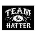 Team Hatter Postcards
