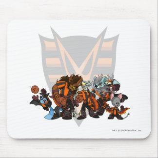 Team Haunted Woods Group Mouse Pad