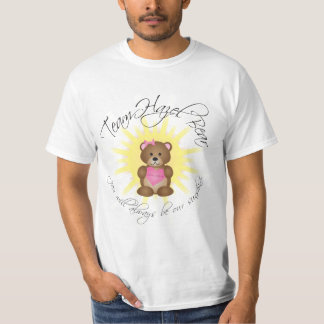 team hazel bear t-shirt (white)