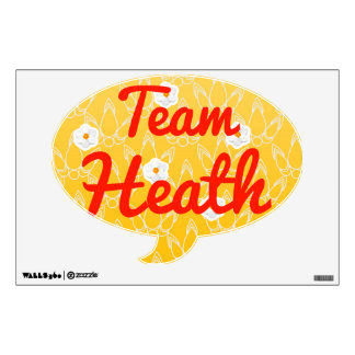Team Heath Room Sticker