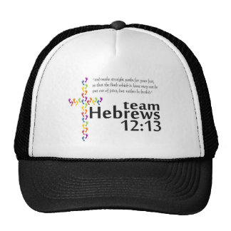 Team Hebrews 12:13 for Walk Your A.S. Off Hats