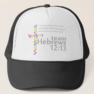 Team Hebrews 12:13 Trucker Hat