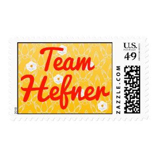 Team Hefner Stamp