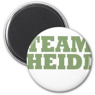 Team Heidi 2 Inch Round Magnet
