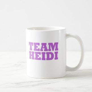 Team Heidi Classic White Coffee Mug