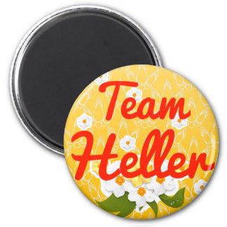 Team Heller Fridge Magnet