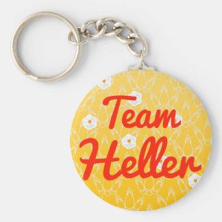 Team Heller Key Chain