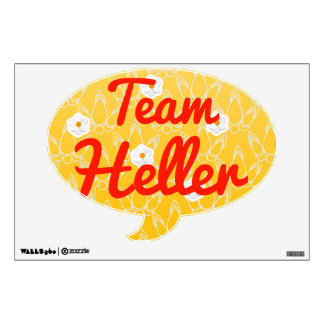 Team Heller Room Stickers