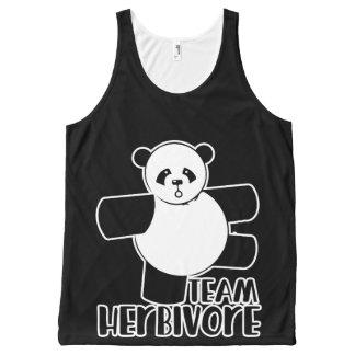 Team herbivore All-Over print tank top