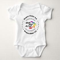 Team Herpers KickinAS 2014 Baby Bodysuit