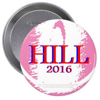 Team Hill (Hillary Clinton) Springs into Action! Button