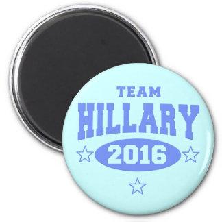 TEAM HILLARY 2016 Hillary Clinton 2 Inch Round Magnet
