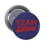 Team Hillary Blue Button