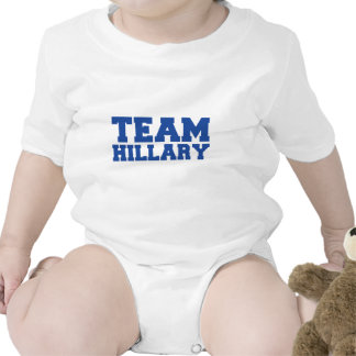 TEAM HILLARY CLINTON BLUE.png Bodysuits