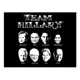 Team Hillary - Hillary Team Postcard