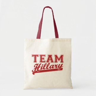 Team Hillary Red Bag