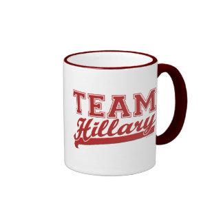 Team Hillary Red Mug