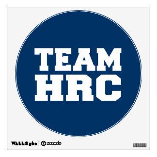TEAM HILLARY RODHAM CLINTON 2016 WALL GRAPHIC