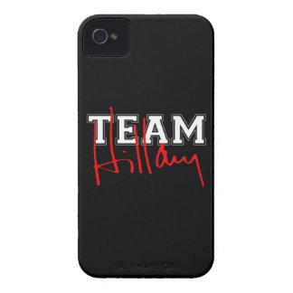 TEAM HILLARY WHITE.png Case-Mate Blackberry Case