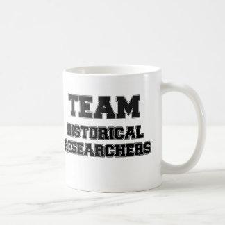 Team Historical Researchers Classic White Coffee Mug