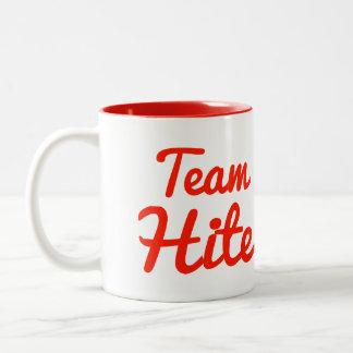 Team Hite Two-Tone Coffee Mug