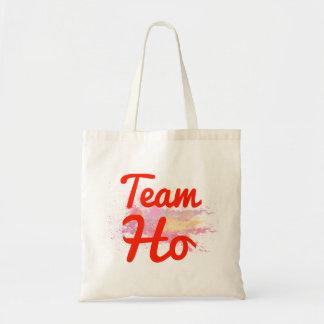 Team Ho Canvas Bags