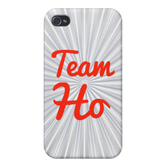 Team Ho iPhone 4/4S Cases