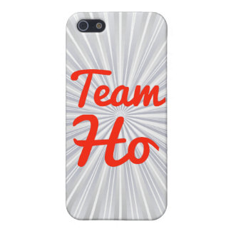 Team Ho iPhone 5 Cases