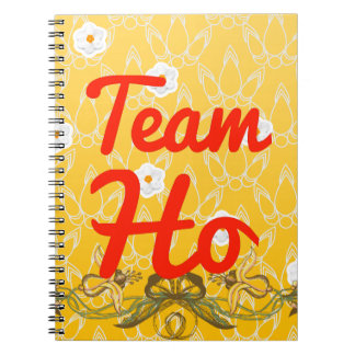 Team Ho Spiral Notebook
