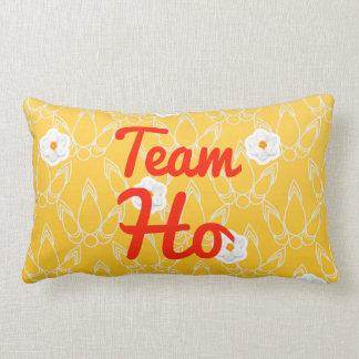 Team Ho Throw Pillows
