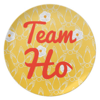 Team Ho Dinner Plates