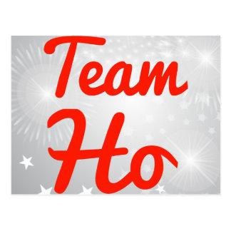 Team Ho Postcard