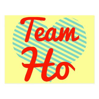 Team Ho Postcards
