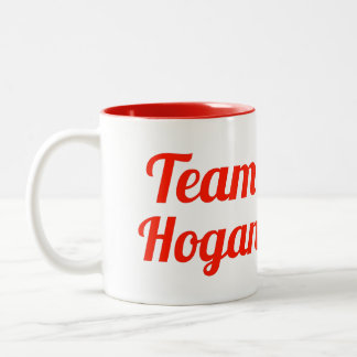 Team Hogan Two-Tone Coffee Mug