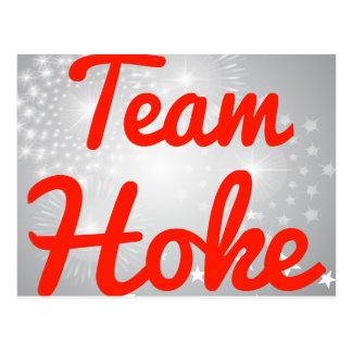 Team Hoke Postcard