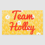 Team Holley Stickers