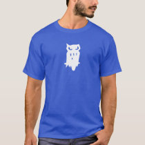 Team Hoot Loan owl White T-Shirt